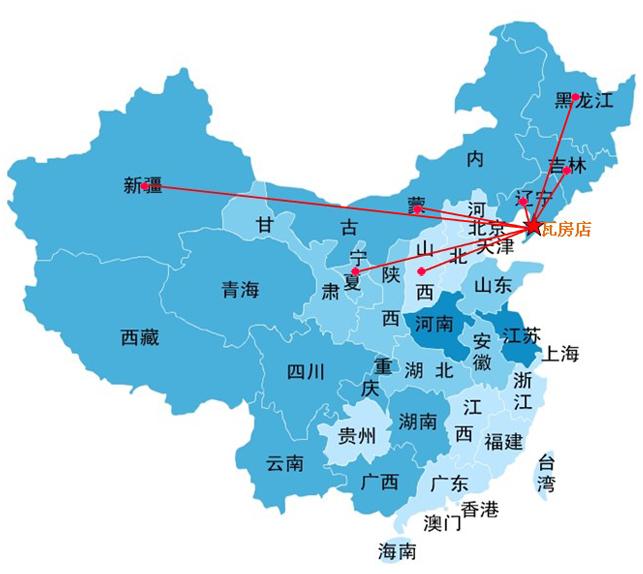 销售网络 - 瓦房店市驼山乡鑫兴益农机厂